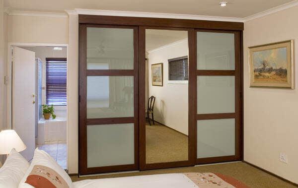 Fine Line Mirror Doors Drakes Aluminium